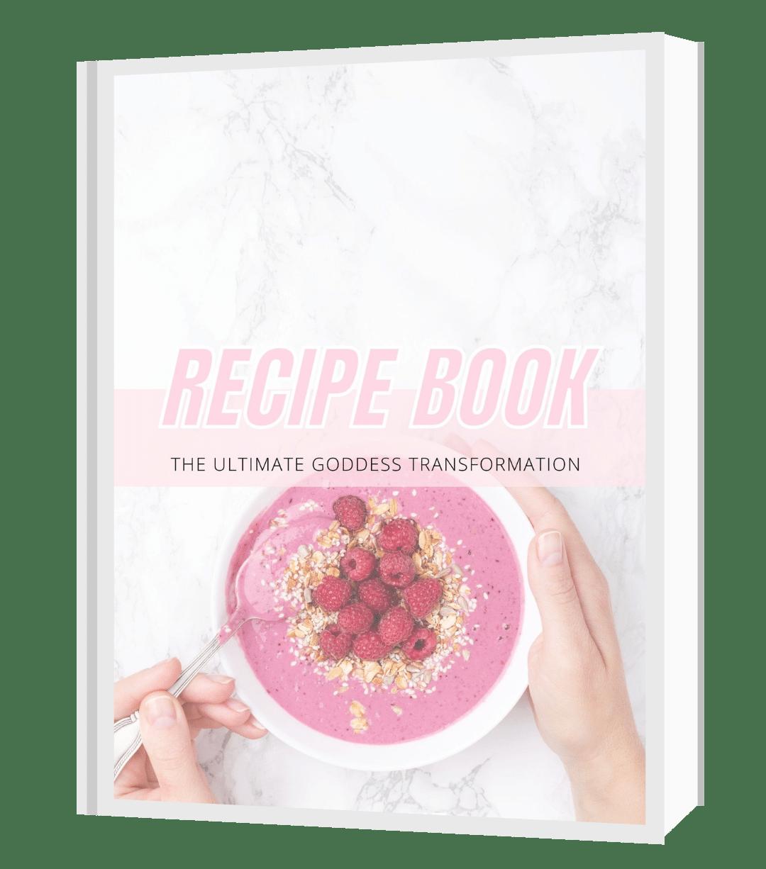 Recipe Book Cut